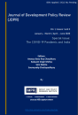 Journal of Development Policy Review