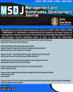 Management and Sustainable Development Journal