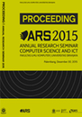 Annual Research Seminar: Computer Science and Information and Communications Technology 2015