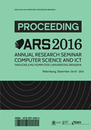 Annual Research Seminar: Computer Science and Information and Communications Technology 2016