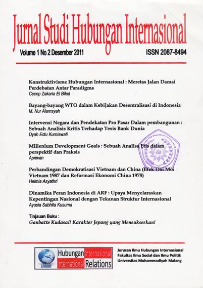 Struktur Kurikulum S1 | Departemen Ilmu Hubungan Internasional FISIP UI