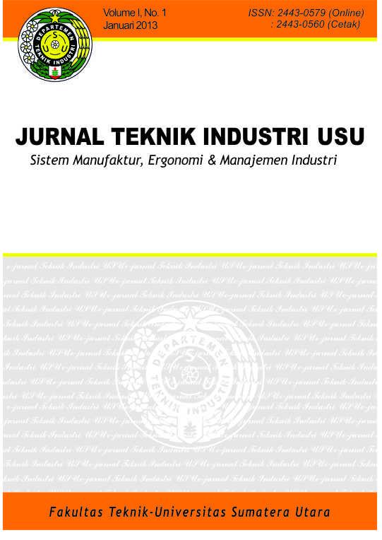 Jurnal Teknik Industri Usu