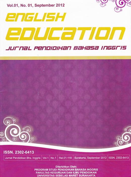 English Education Jurnal Pendidikan Bahasa Inggris Universitas
