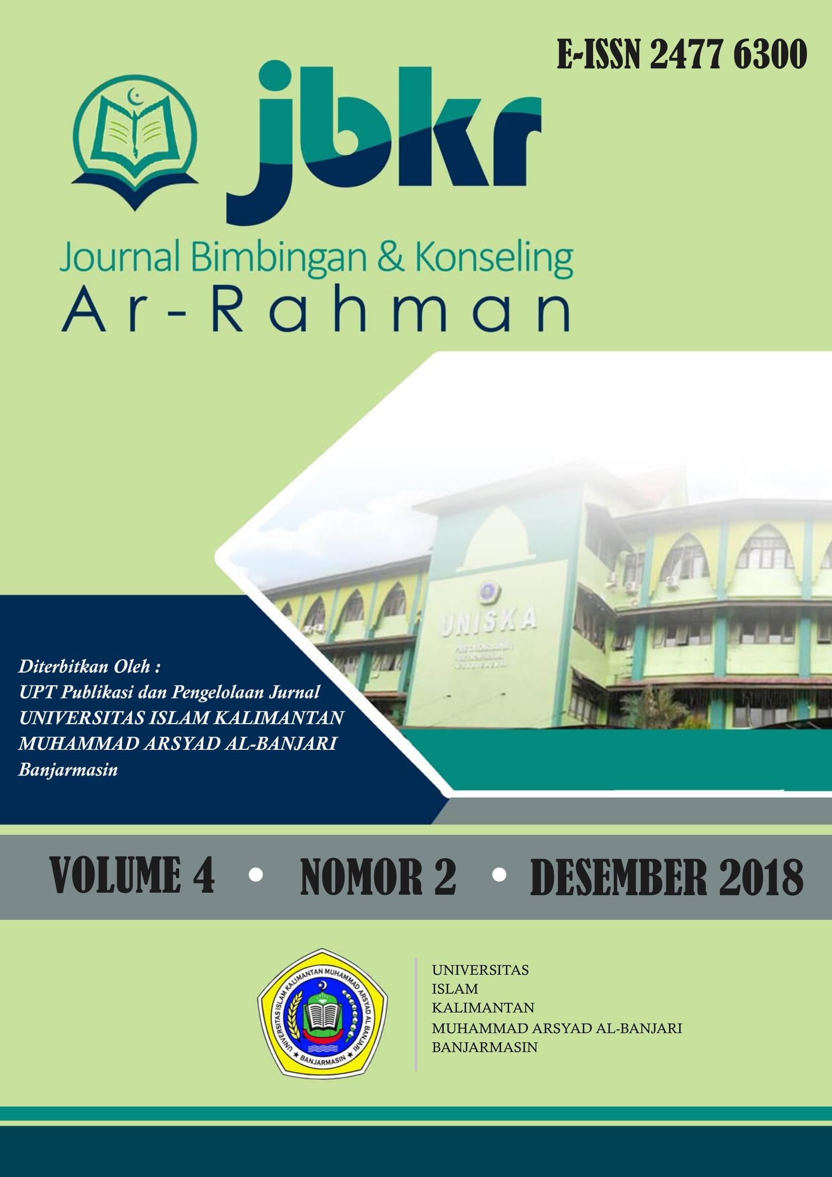Jurnal Bimbingan Dan Konseling Ar Rahman Jbkr
