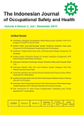 Indonesian Journal of Occupational Safety and Health